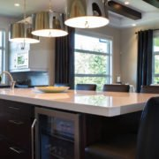 kitchen of sherwood park new home