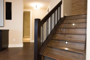 The Stratton - Stairs - Stair risers are illuminated with led lighting ensuring the safety of your family.