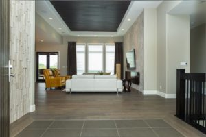 The Soho II - Foyer - The Foyer inlaid tile floor will lead you directly into the Great Room.