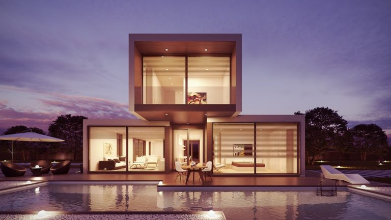 luxury custom home build