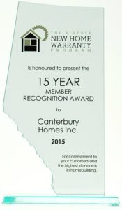Some Home Builder Awards We Have Received Throughout The Years